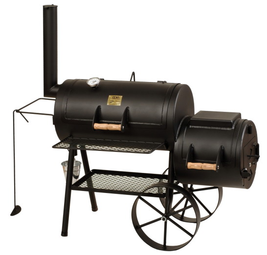 BBQ Stahl Smoker 16 Zoll Special Edition 2021 JS-33900