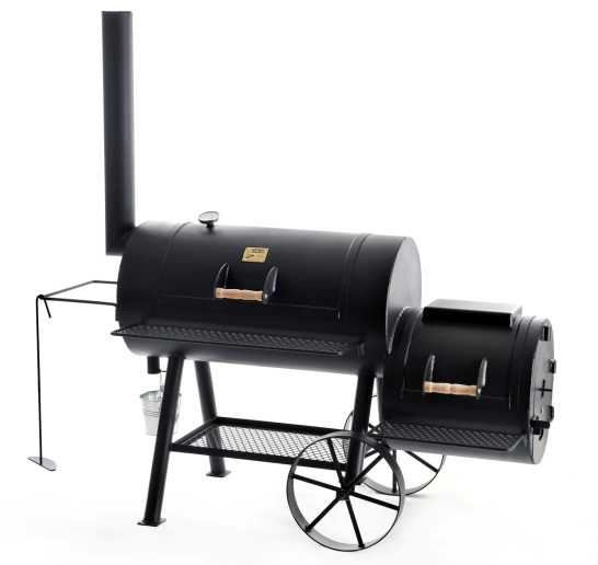 BBQ Stahl Smoker 20 Texas Classic Lange Version Edition 2021 JS-33753
